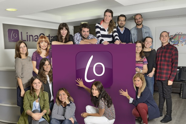 The team from Lina Ortas Comunicación