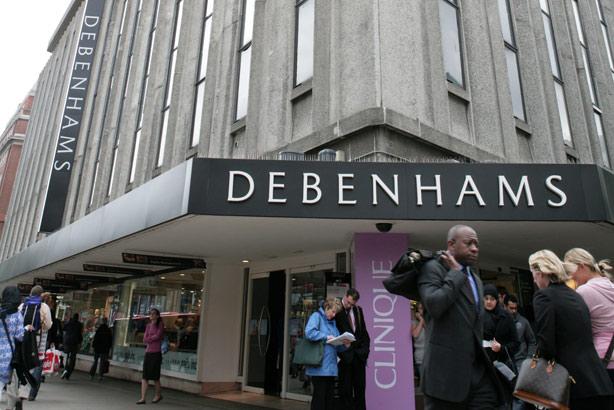 Debenhams: Has hired Christine Morgan