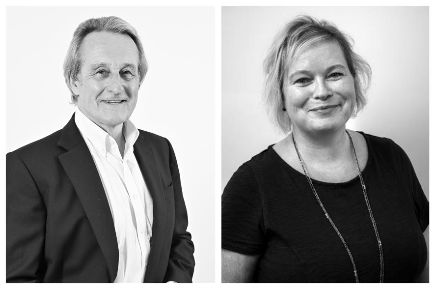 New colleagues: Definition chairman Nigel Howes and Redhouse MD Fiona Corey