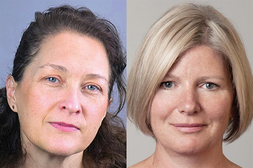 Joining forces (L-R): Kate Andersen, MD, Breaking Blue, and Jane Shirley, CEO, Cello Health Europe
