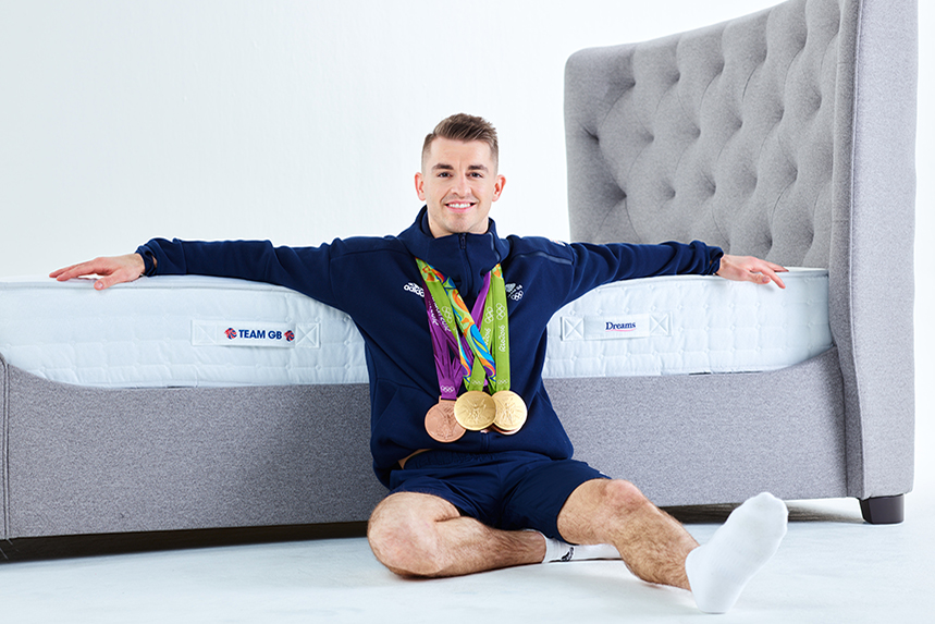 Five-time Olympic medallist Max Whitlock is a Dreams ambassador.