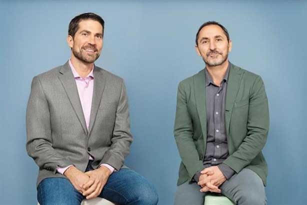 Brian Whipple (L) and David Droga (R)