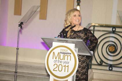Tesco Mum of the Year: Fiona Phillips hosted this year's awards