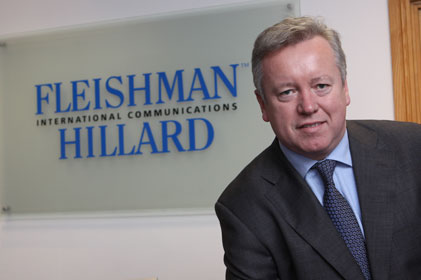 Taking responsibility for UK and Africa at F-H: John Saunders