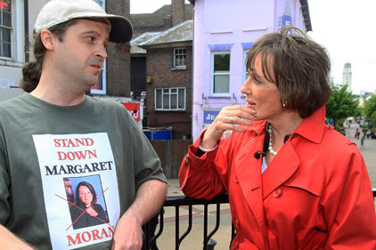Campaign trail: Esther Rantzen running as independent