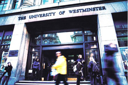University of Westminster: hires Broadgate Mainland