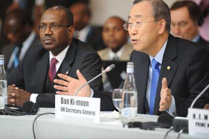 Among those targeted: Ban Ki-moon