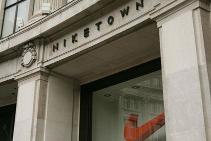 Nike: establishes comms base in London