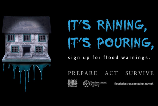 'Prepare. Act. Survive': the Environment Agency's powerful message warning of flood risk