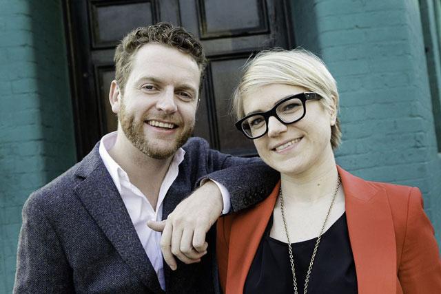 Surname & Surname: Kev O'Sullivan and Lotte Jones