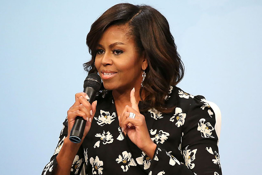 Michelle Obama: former first lady set to appear at virtual seminar (©GettyImages)