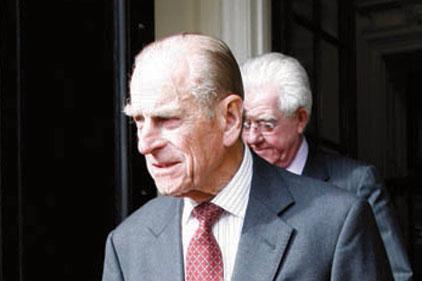 Prince Philip: met travel journalists