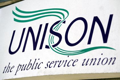 Unison: blasted councils