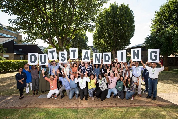 ELFT staff: Celebrating being rated 'outstanding' by the Care Quality Commission