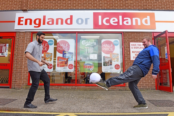 England or Iceland: The frozen food chain's Leicester store