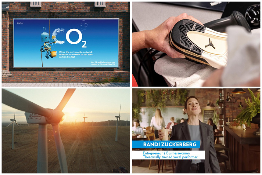 Earth Day: O2, Nike, Budweiser and Sodastream