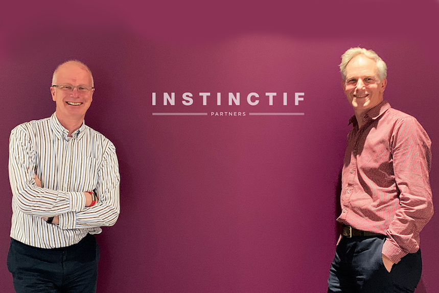(L-R) Tim Linacre and Ed Amory have new roles at Instinctif Partners