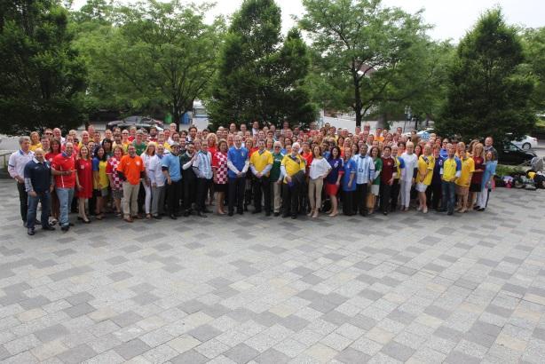 Edelman's global leadership team at the agency's 2014 Leadership Meeting in New York last month