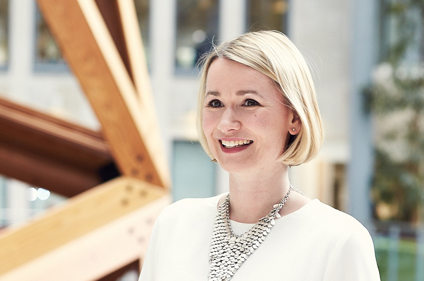 Emily Tofield will leave her role as a government comms chief in May