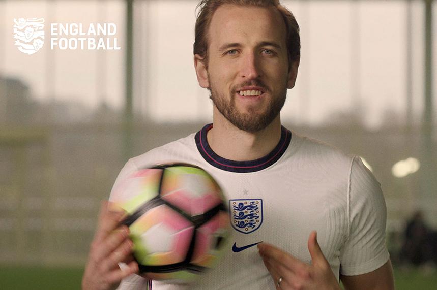 England Football: footballer Harry Kane appears in brand film