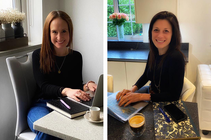 (L-R) Espresso founders Lisa Fox and Stacey Jaffe