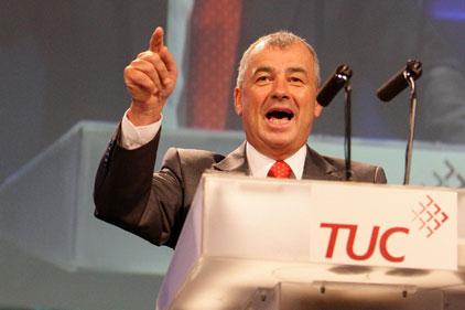 TUC: general secretary Brendan Barber (PA)