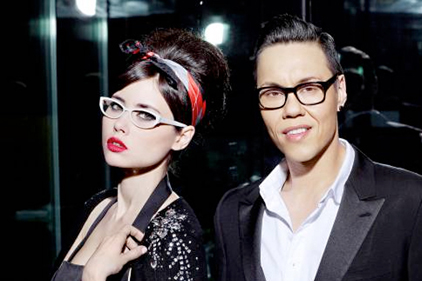 Smash hit: Gok Wan's glasses