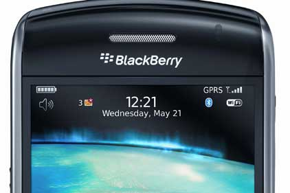 Key client: RIM's BlackBerry