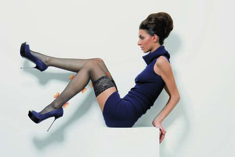 Support: An example of Daylong's compression hosiery range