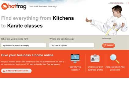 Global business directory: Hotfrog