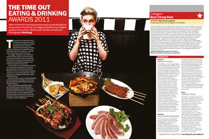 Time Out: Eating and Drinking Awards