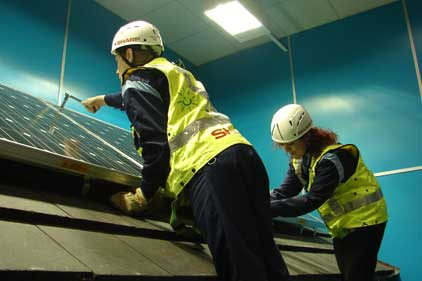 Sharp: campaign led to interest in its Installer Academy