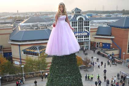 Lakeside's: living Christmas fairy
