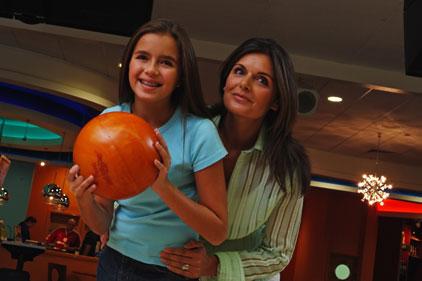 Family-friendly: ten-pin bowling