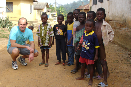 Phil Spencer: SOS Children supporter