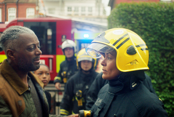 Serving fire fighter Chanel stars in the film to accompany LFB's recruitment drive aimed at women and BAME communities