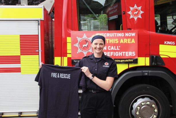 Hertfordshire Fire & Rescue: A new recruit