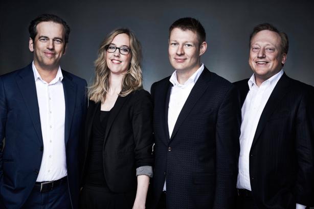 Management team (l-r): Bernhard Fischer-Appelt, Franziska von Lewinski, Matthias Wesselmann, Andreas Fischer-Appelt