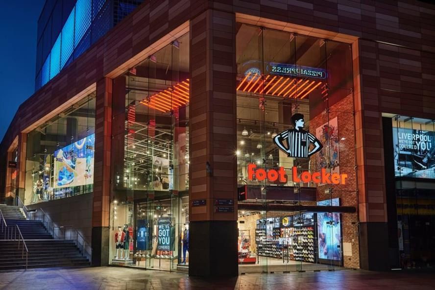 A Foot Locker store in Liverpool