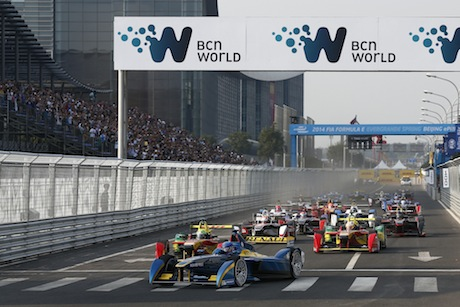 Formula E: season opened last month with debut race in Beijing
