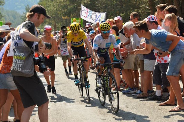 Allegations: Froome, in yellow, says he has been trying to be as open as possible