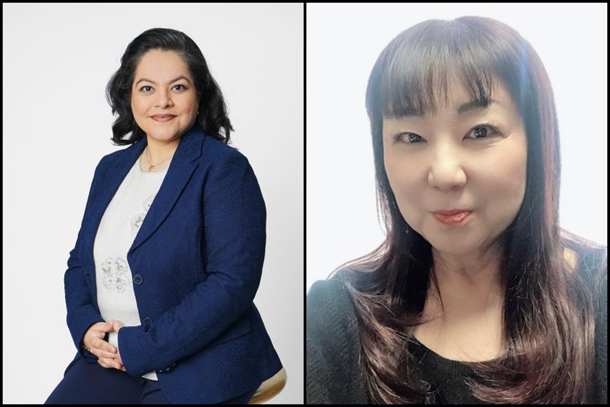 From left: Hemali Bhutani & Chitose Yamada