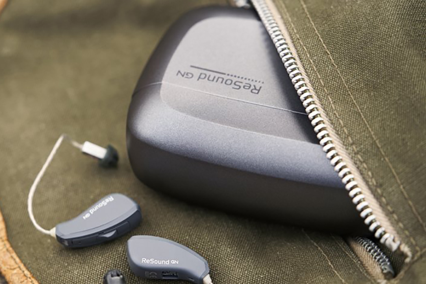 GN Hearing's ReSound hearing aids.