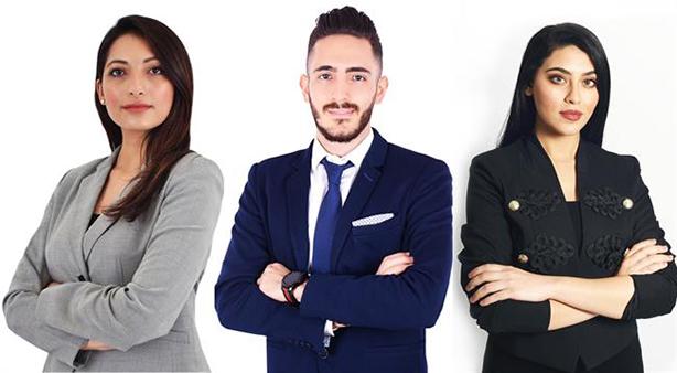 Dalia Baddar, Mohammad Al Sayed and Mirna Tamimi have joined the new Dubai PR firm