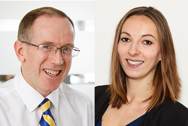 The Public Affairs Board's new co-chairs George McGregor and Emma Petela.