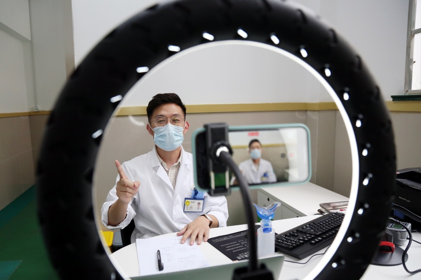 A paediatrician in Shaoxing, China recorded a video on Tiktok to spread knowledge about various diseases