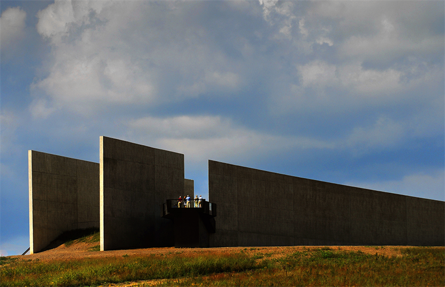 The Flight 93 National Memorial in Shanksville, Pennsylvania. (Credit: Getty Images)