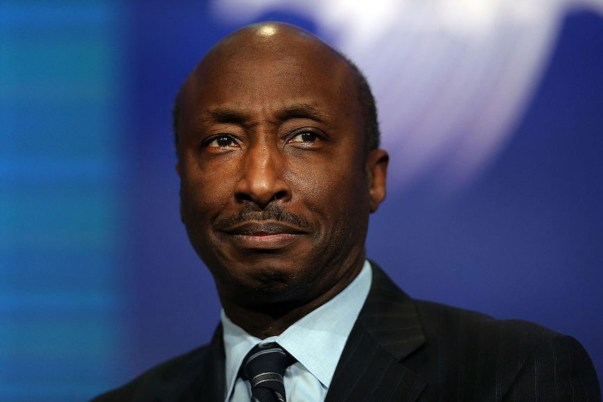 Merck's Kenneth Frazier is again leading the charge on corporate action on a charged subject. (Photo credit: Getty Images)