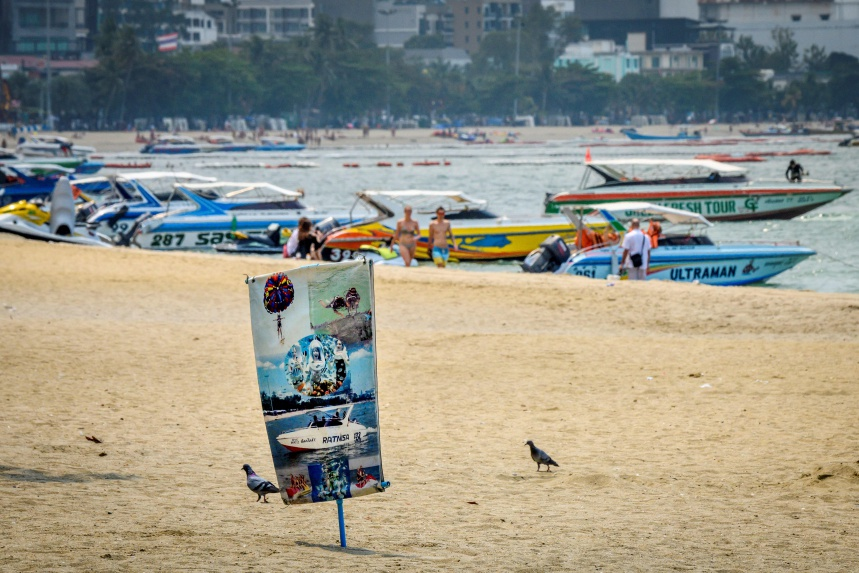 Pattaya is a popular destination among Chinese tourists but the spread of the virus has left beaches deserted. ©GettyImages