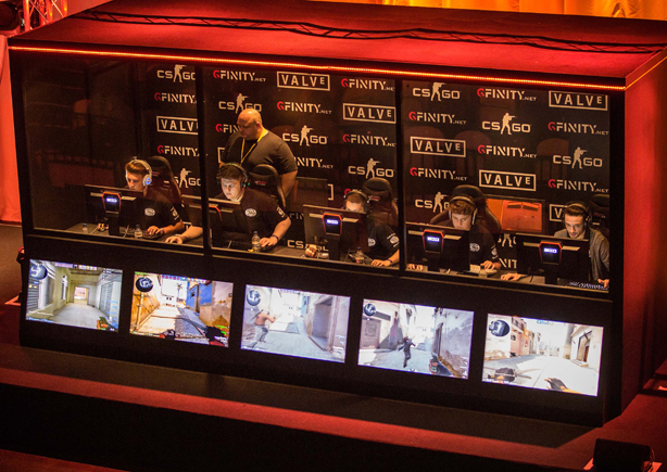 E-sports events: A growing slice of the worldwide gaming industry
